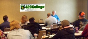 wm. bill mcpike - teaching medical marijuana law at 420 College classes