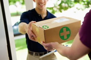 Marijuana delivery service applications